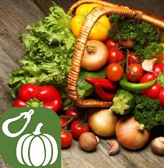 Emilia Romagna Reggio Emilia Verdure e frutta provenienti da Agricoltura selezionata…